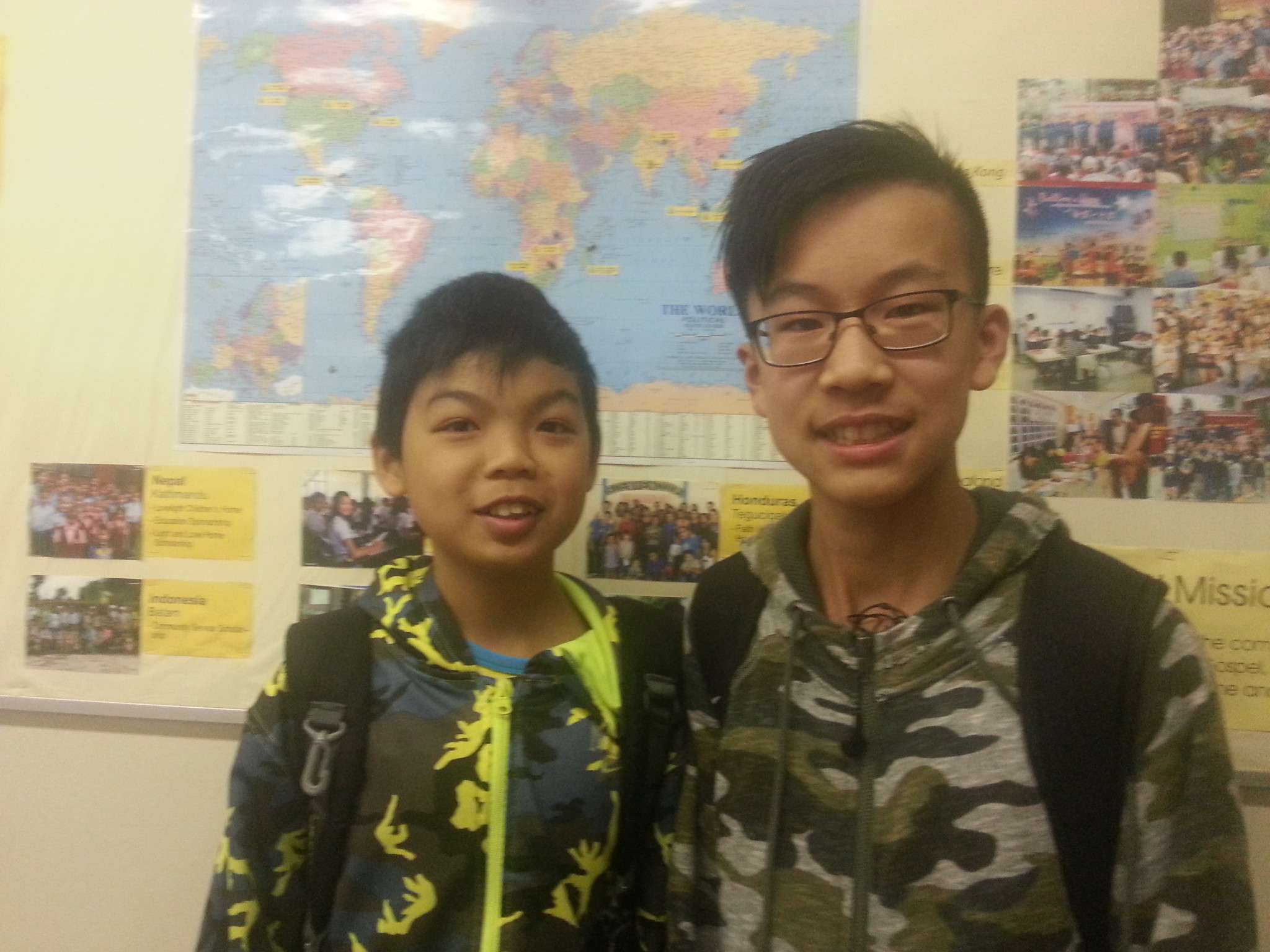 Not only the activities – Andy Yung, Grade 6