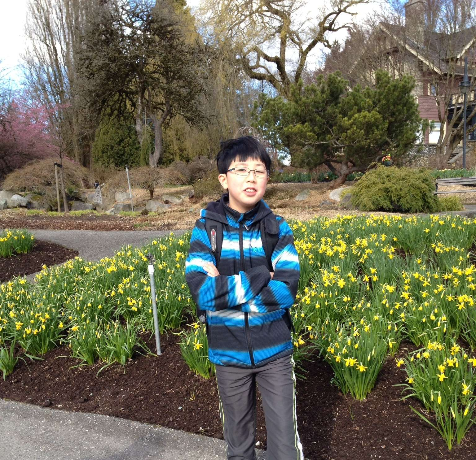 I built a habit to have fellowship with God every day! – Jeffrey Chow, Grade 6