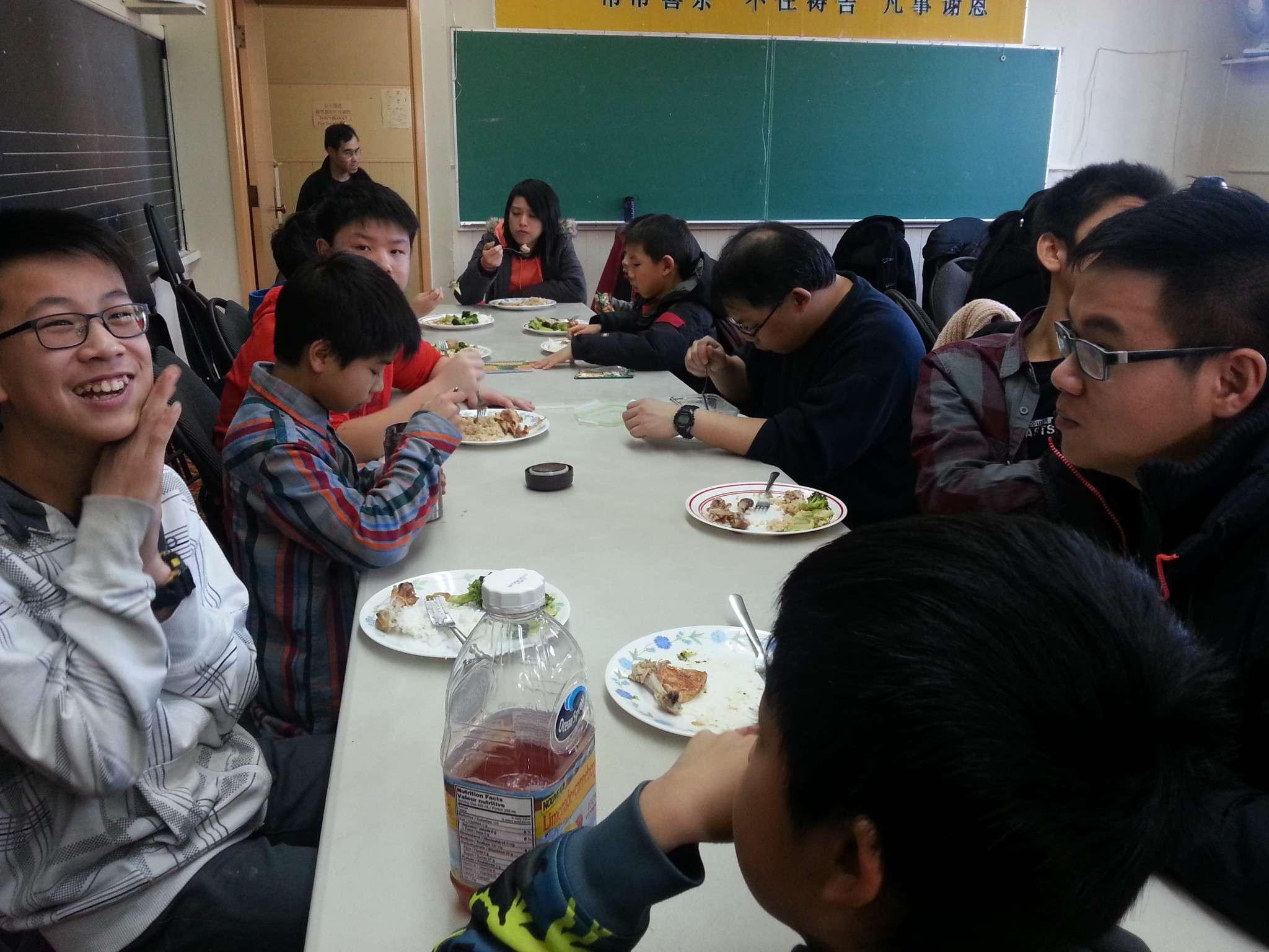 Joyful to pursue God together – Wells Suen, Grade 7