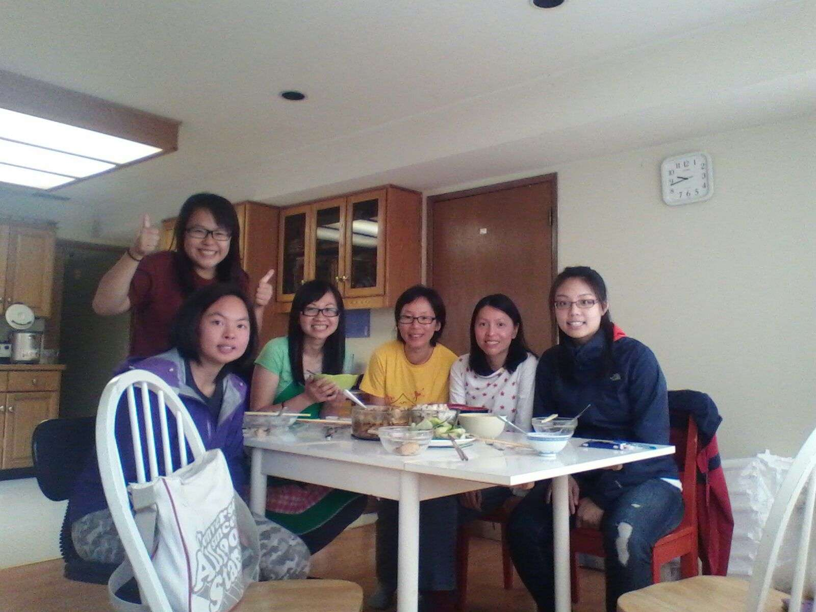I enjoy the coworkers' dinner gatherings! – Tuhien Trieu