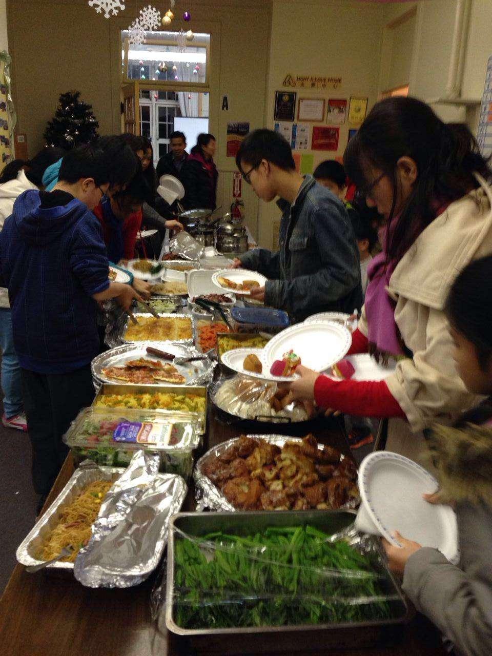 降生節福音聚餐 – Ida Kong